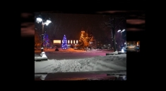 Night pictures of Bansko